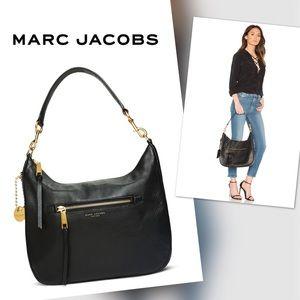 🆕MARC JACOBS Recruit Leather Hobo Bag